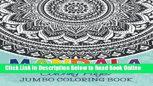 download mandala coloring pages jumbo coloring book ebook free