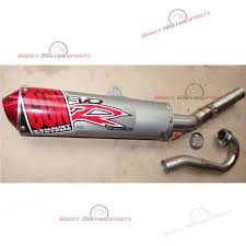 suzuki rmz250 rmz 250 big gun exhaust evo r mx pipe muffler full