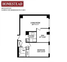 440 eglinton apartments homestead view floor plans