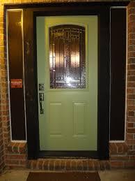 bella blue jungle painting my front door