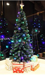 signstek 8ft artificial fiber optic tree 300
