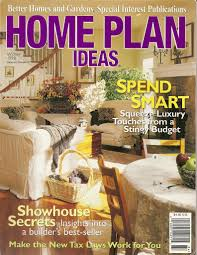 Better Homes And Gardens House Plans Press Publications April Heather Art