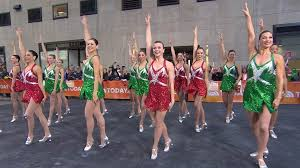 the rockettes perform new york at on the today plaza