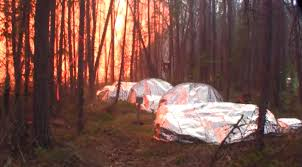 Alberta Wildfire Job Application by Firefighters Could Be Using Nasa Designed Forest Fire Shelters In