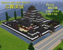 Japanese Castle Floor Plan Mod The Sims Japanese Style Castle Sims Jo