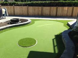 backyard putting green designs 1000 ideas about outdoor putting