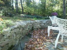 Sunken Patio Lovely Sunken Patio With Sitting Retaining Wall Ten Years After