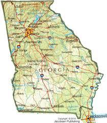ga map ga shaded relief map fullscreen