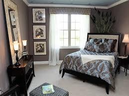 modern blue and brown bedroom white single sofas sleigh california