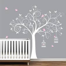 stickers arbre chambre fille prepossessing stickers arbre blanc chambre bebe galerie accessoires