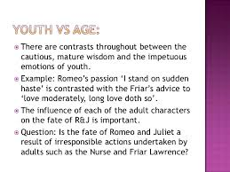 themes of youth in romeo and juliet romeo juliet themes lesson