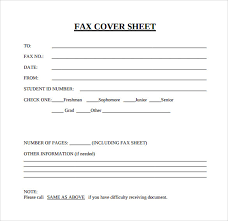sample fax cover sheet template free printable fax cover sheet
