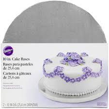 round silver cake base round designs