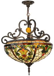 Inverted Bowl Pendant Light by 151873 Baroque Inverted Pendant