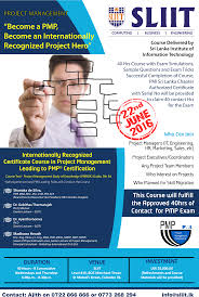 certificate course in project management sri lanka institute of