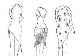 dress designs by b1indasabat on deviantart