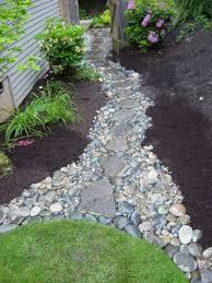 50 marvelous backyard rock pathway to enhance your beautiful