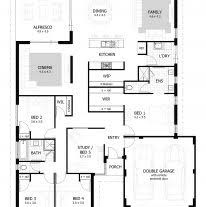 4 bedroom 1 story house plans home architecture stunning bedroom houses building plans online