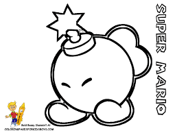 mario bad guy coloring pages coloring