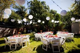Backyard Country Wedding Triyae Com U003d Wedding Reception In Backyard Various Design