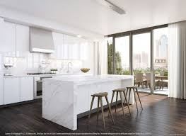 white marble kitchen island white marble kitchen island