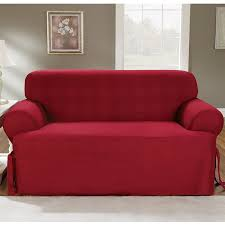 Cotton Sofa Slipcovers by Amazon Com Sure Fit Duck Solid T Cushion Sofa Slipcover