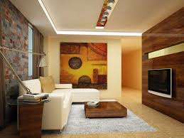 sleek narrow living room design feat low square coffee table on