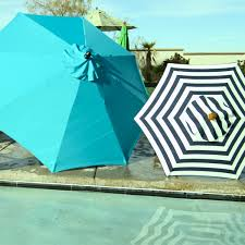 8 Foot Patio Umbrella by Brown 9 Ft Umbrella Frame And Pole World Market