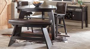 casual dining room sets noah chocolate 5 pc bar height dining room dining room sets wood