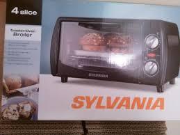 Screen Toaster Sylvania 4 Slice Toaster Oven Broiler Ebay