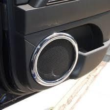 jeep patriot speakers abs chrome silver interior panel dash board dashboard trim sticker