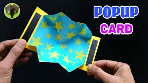 tutorial scrapbook card easy popup card diy scrapbook handmade tutorial 761 youtube
