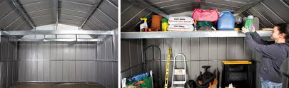 arrow sheds accessorize attic workbench frame kit metal sheds