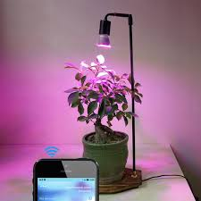 timer lights for home 30w led plant grow light desk table l with smart timer switch
