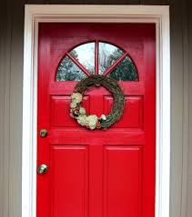 red front door the break down of curb appeal spoonful of imagination
