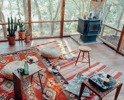 Aztec Design Rugs Aztec Rug Woodstove Cactuses And Windows