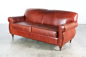 furniture distressed leather couch burgundy leather sofa