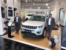 jeep compass 2017 grey fca india opens pre bookings for the jeep compass in delhi ncr