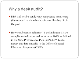 Desk Audit Indicators 11 And 13 Bureau Of Indian Education Division Of
