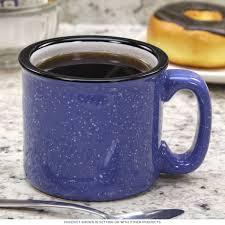 santa fe campfire coffee mug ocean blue ceramic mugs