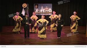 typical spanish folklore flamenco dance stock video footage 5581570
