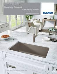 blanco metallic gray sink blanco 2016 silgranit brochure by blanco issuu