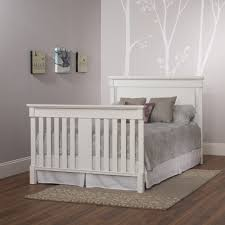 Gray Convertible Cribs by Bradford 4 In 1 Convertible Crib Child Craft