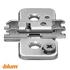 Walzcraft Cabinet Doors by Mounting Plate For Blum Clip Top Frameless Walzcraft