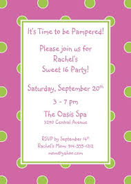 polka dot invitations polka dot invitation pink and green