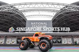 monster truck show sydney monster jam to debut in singapore on 19 august 2017 darren