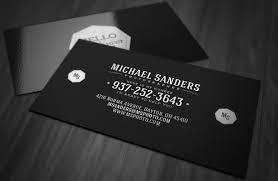 Minimal Business Card Designs Clean Minimal Business Card Template Design Print Pinterest