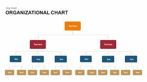 organizational chart keynote and powerpoint template slidebazaar