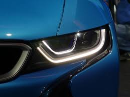 bmw laser headlights i8 laser headlights at night with video