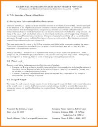 resume example engineering 9 engineering proposal template parts of resume engineering proposal template thesis proposal format example photo